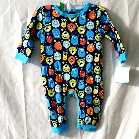 Disney One Pieces Nwt Baby Monsters Inc One Piece Outfit Poshmark